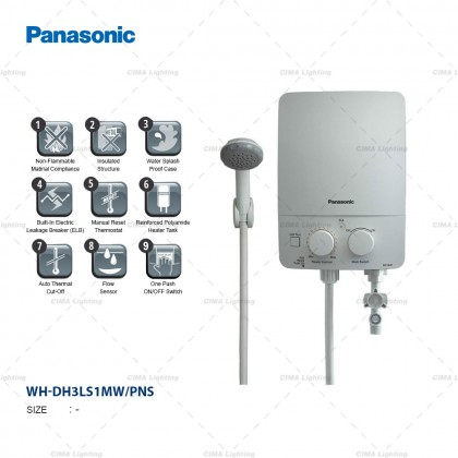 PANASONIC DH-3LS1 NON PUMP INSTANT WATER HEATER