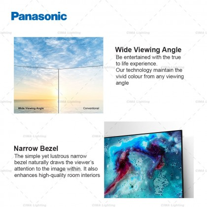 """PANASONIC TH-65HX655K 65"""" 4K HDR ANDROID TV WITH GOOGLE ASSISTANT & CHROMECAST"""