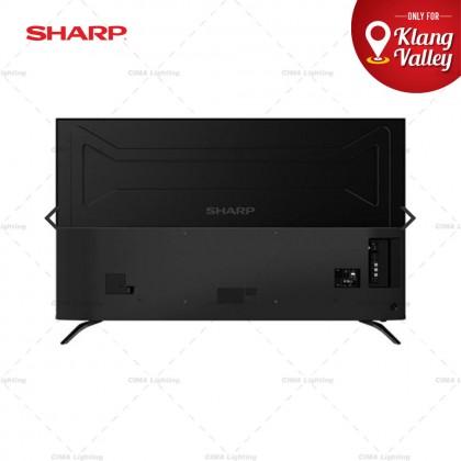 "SHARP AQUOS 4TC70BK1X 70"" 4K UHD ANDROID TV"
