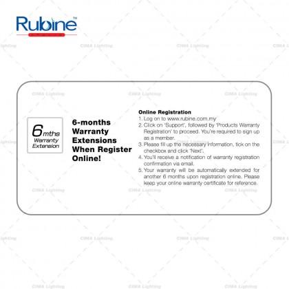 """RUBINE VENTO 53/42"""" OILBROWN/MATTEBLACK DECORATIVE CEILING FAN"""