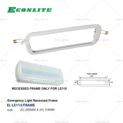 ECONLITE LE115 HIGH EFFICIENCY EMERGENCY LIGHT